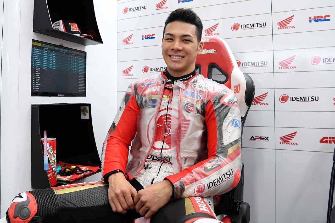 MotoGP:中上、バレンシア初日はウエットに慣れるため「とにかくたくさん周回数を重ねた」
