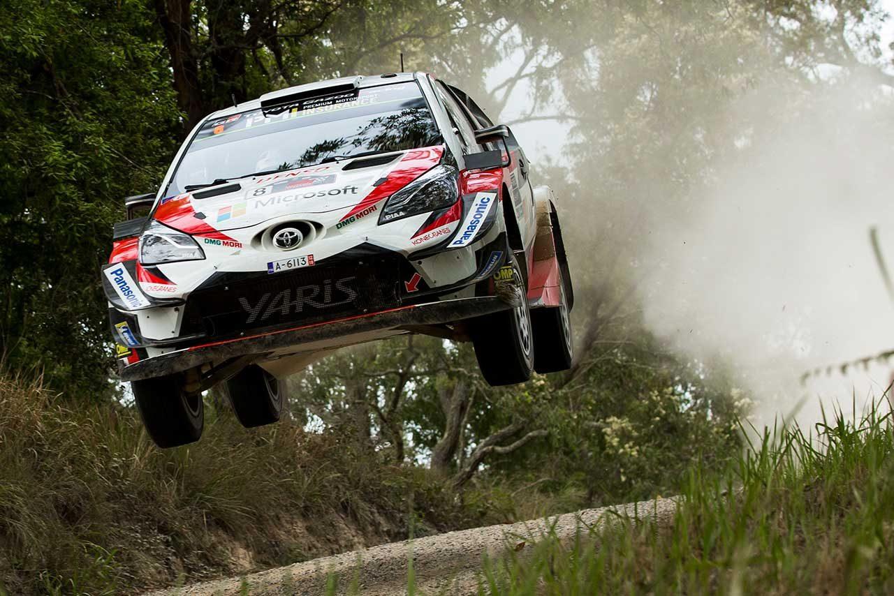WRCオーストラリア:競技2日目にタナクが反撃の狼煙。ラトバラとともにトヨタがトップ2を確保