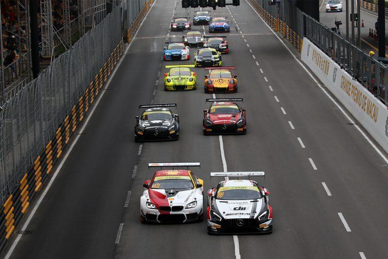 ル・マン/WEC | マカオグランプリのFIA GTワールドカップは17台が参戦。車種バラエティは4車種に留まる