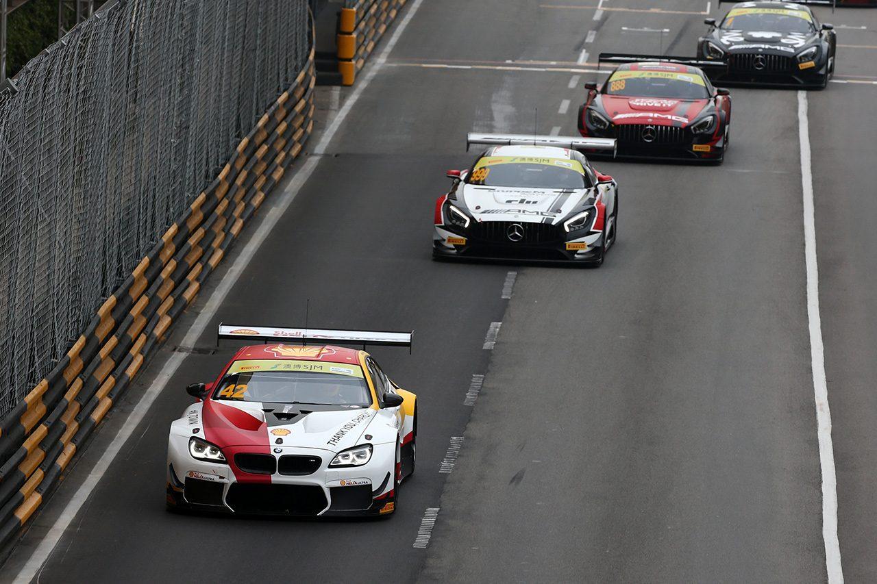 第65回マカオグランプリ:FIA GTワールドカップの予選レースはスタート決めたファーフス&BMWが制す