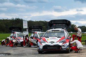 TOYOTA GAZOO Racing WRTは全車がトップ5入りした