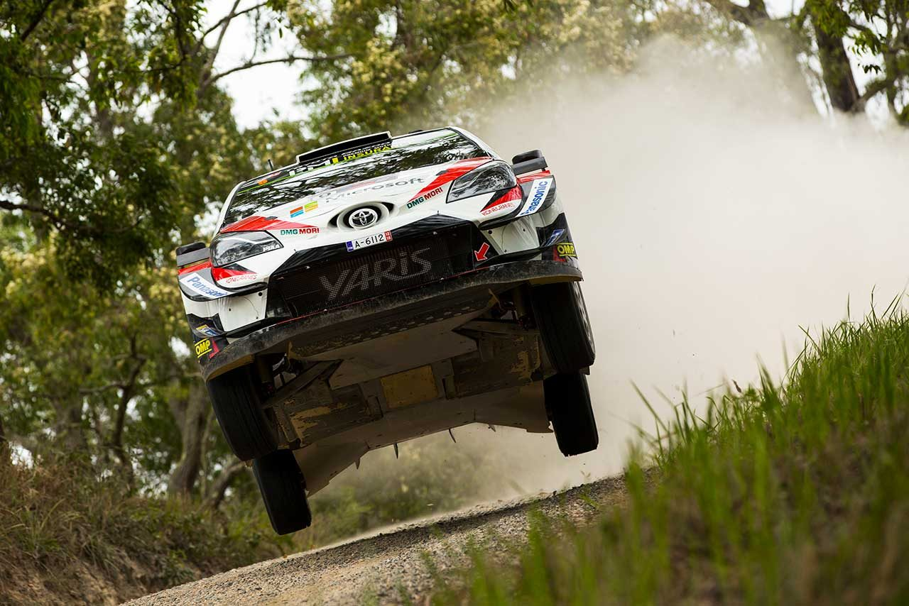 WRC:トヨタ、復帰2年目のチーム王座に王手。マキネン「ドライバーは明日どう戦うべきか理解している」