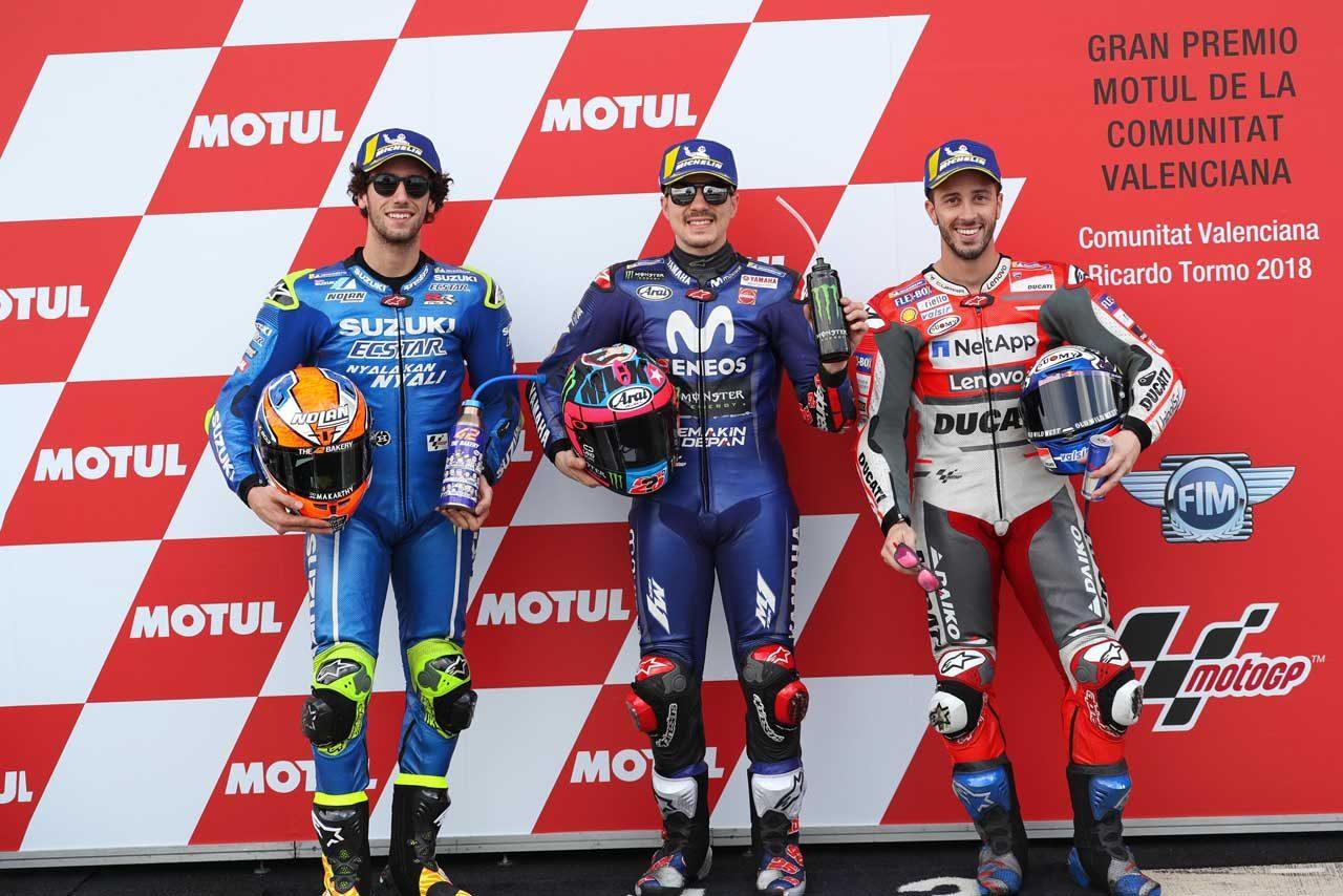 MotoGP:ビニャーレス「ここ5レースは本当に素晴らしい」/バレンシアGP予選トップ3コメント