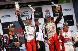 第13戦オーストラリアで総合優勝を飾ったヤリ-マティ・ラトバラ(トヨタ・ヤリスWRC)