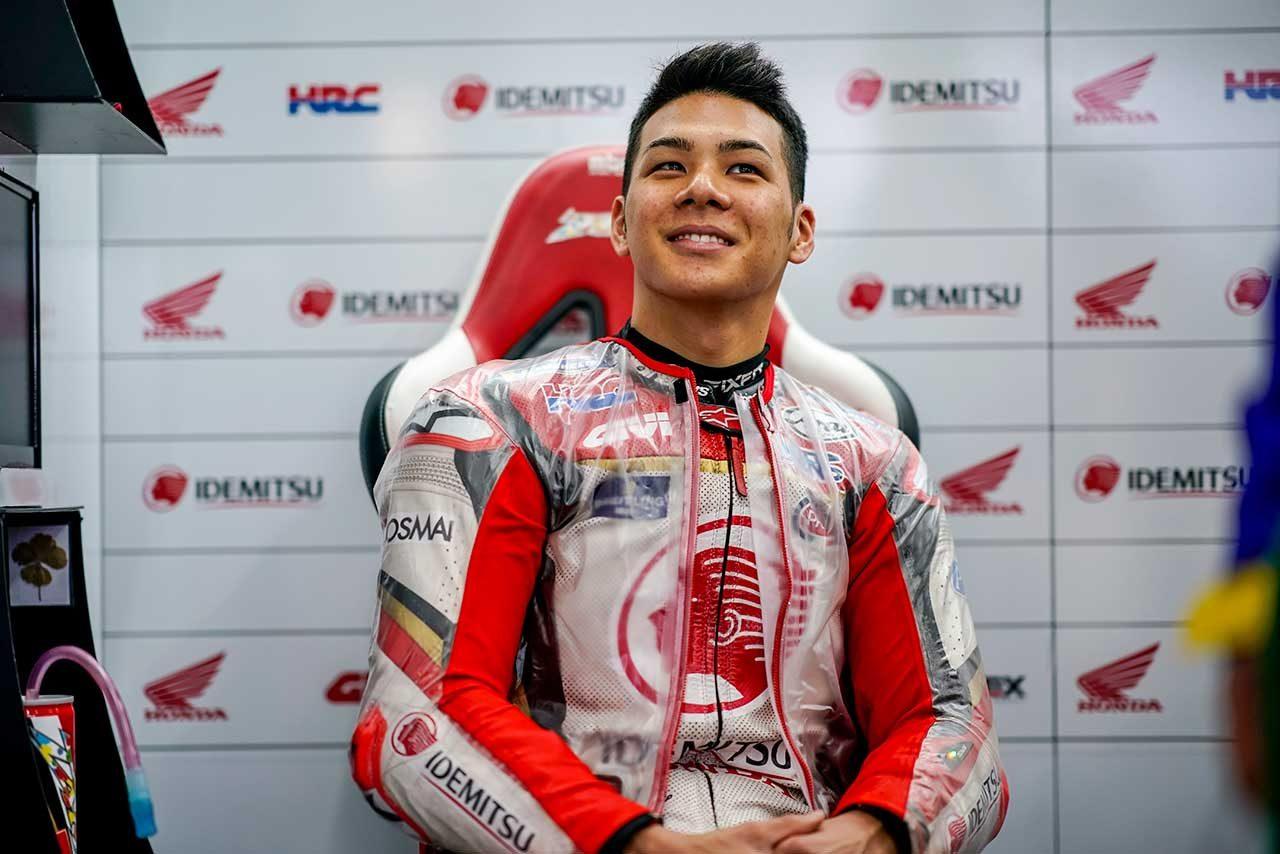 MotoGP:中上、最終戦予選でファクトリーライダーとの争いに手ごたえ。「状況に素早く適応できた」