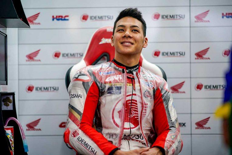 MotoGP   MotoGP:中上、最終戦予選でファクトリーライダーとの争いに手ごたえ。「状況に素早く適応できた」