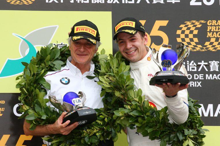 ル・マン/WEC | 第65回マカオグランプリ:ファーフス&BMWがシュニッツァーのラム代表に捧げる勝利を飾る