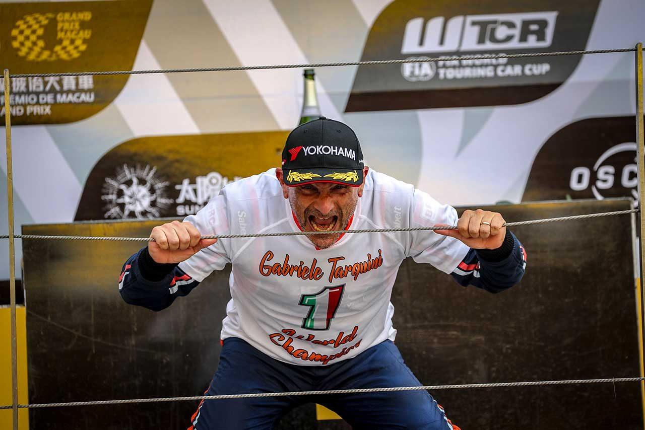 WTCR:最終戦マカオで56歳のタルキーニが初代王者に。レースはアウディとホンダが制す
