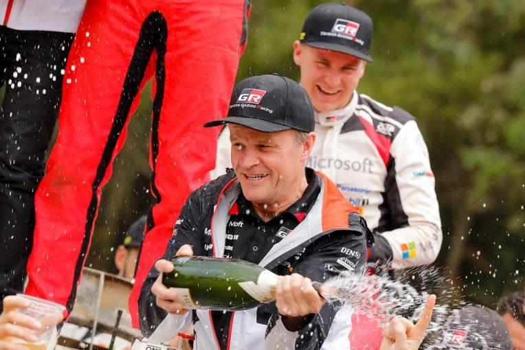TOYOTA GAZOO Racing WRTの指揮を執るチーム代表のトミ・マキネン
