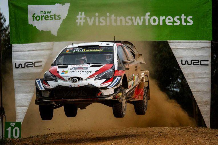 ラリー/WRC | 最終ステージ目前でリタイアしたトヨタのタナク「2019年も攻めの姿勢で」/WRC第13戦オーストラリア デイ3後コメント