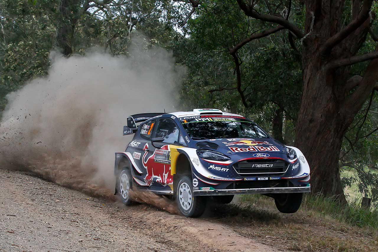最終ステージ目前でリタイアしたトヨタのタナク「来年も攻めの姿勢で」/WRC第13戦オーストラリア デイ3後コメント