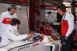 F1 | ザウバーの女性テストドライバー、カルデロンがF1テスト「フェラーリV8エンジンのパワーと音は素晴らしかった」