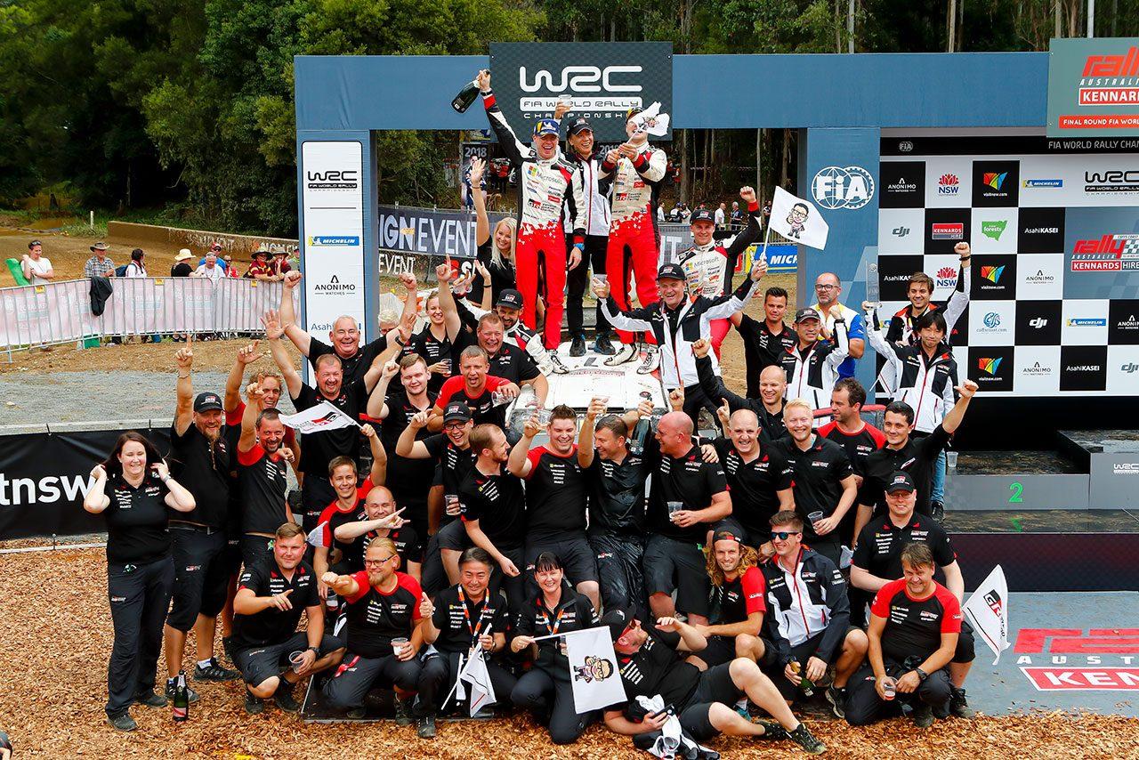 【動画】ラトバラから日本のファンへメッセージも。WRC第13戦オーストラリア ダイジェスト