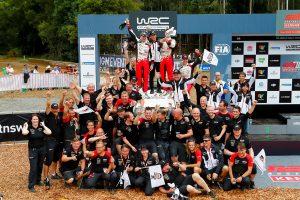 第13戦オーストラリアを制したTOYOTA GAZOO Racing WRT
