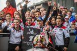 MotoGP | MotoGP最終戦:中上、6位獲得しパルクフェルメで歓喜。「クラッチローがアドバイスをくれた」と感謝