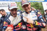 シリーズ6連覇を飾ったセバスチャン・オジエ(フォード・フィエスタWRC)