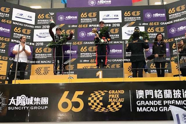 海外レース他 | GOLDEX Racing Team 2018マカオFIA F3ワールドカップ レースレポート