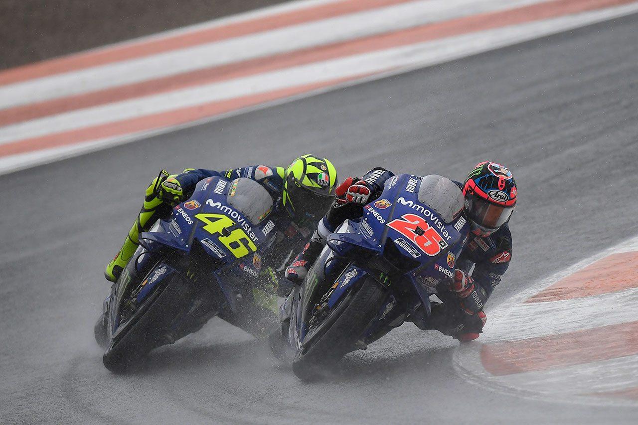 雨に翻弄されたMotoGPバレンシアGP、転倒者たちの弁。ロッシ「マレーシアでの転倒に近かった」