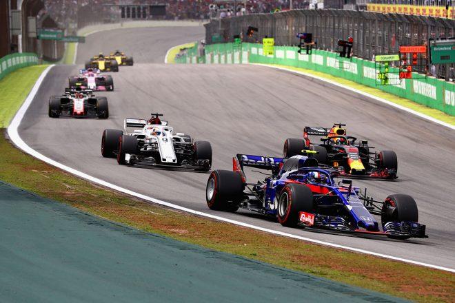 2018年F1第20戦ブラジルGP ピエール・ガスリー