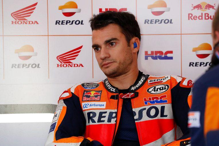 MotoGP最終戦バレンシアGPで、MotoGPライダーとして最後のレースを終えたペドロサ