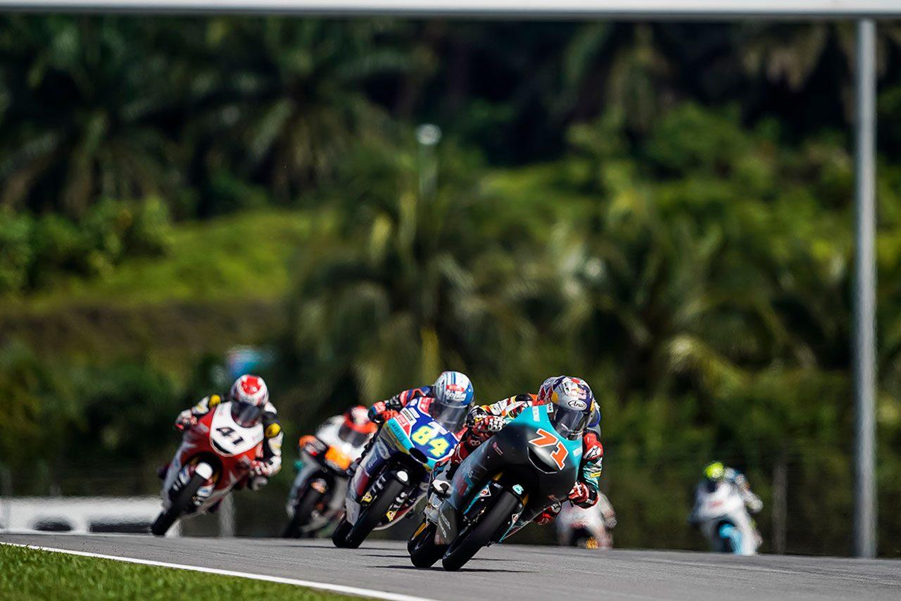 Moto2、Moto3クラスの予選方式が2019年から変更。公式予選1、2システムを採用
