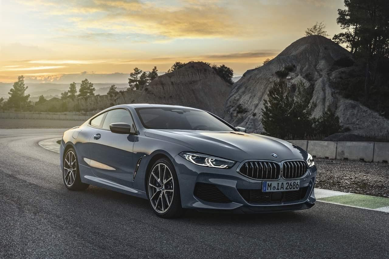 WEC参戦ベースモデル、新型『BMW8シリーズ』登場。V8ツインターボを搭載
