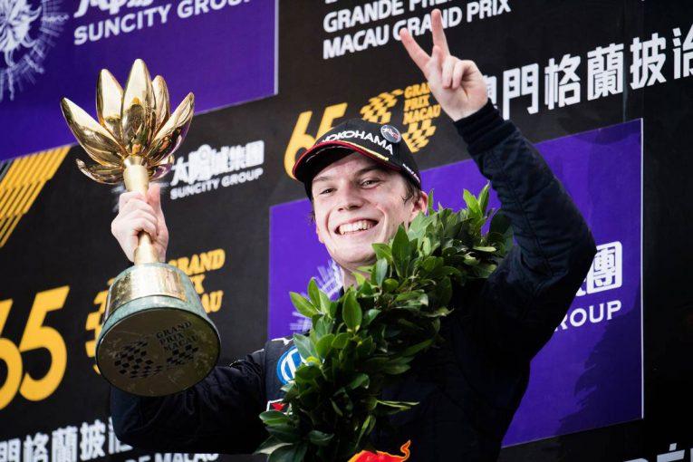 海外レース他 | FIA F2:マカオGP連覇のティクトゥムがF2デビューへ。福住のチームメイトとしてアブダビ参戦