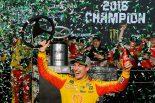 海外レース他 | NASCAR第36戦:フォードのロガーノが優勝して自身初のチャンピオンに。トヨタは連覇ならず