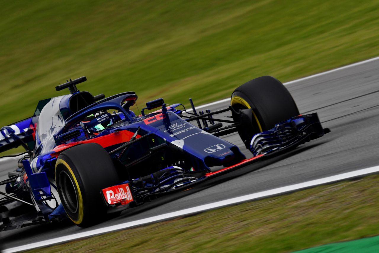 2018年F1ブラジルGPでのハートレー