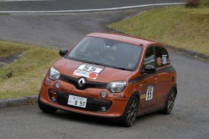 ラリー/WRC | 新城ラリーにRR車のルノー・トゥインゴGTが初参戦し8位完走。2019年は全日本ラリーへフル参戦