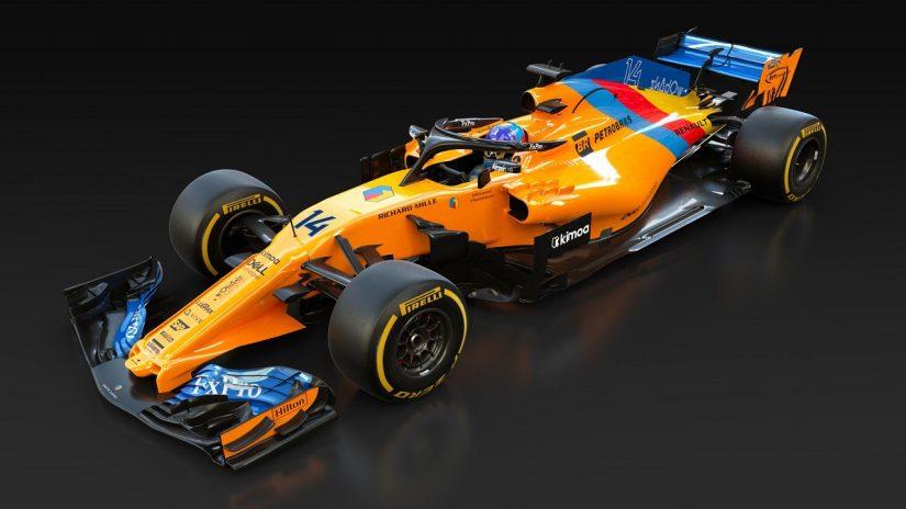 F1 | マクラーレン、F1を去るアロンソに敬意を表し、スペシャルカラーのマシンを用意。32年ぶりの取り組み