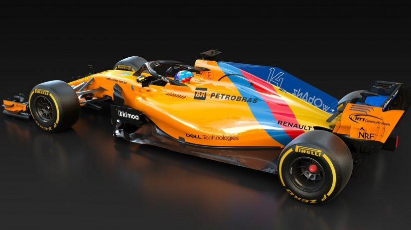 F1 | 【ギャラリー】アロンソ、スペシャルカラーのマクラーレンMCL33でF1ラストレースへ