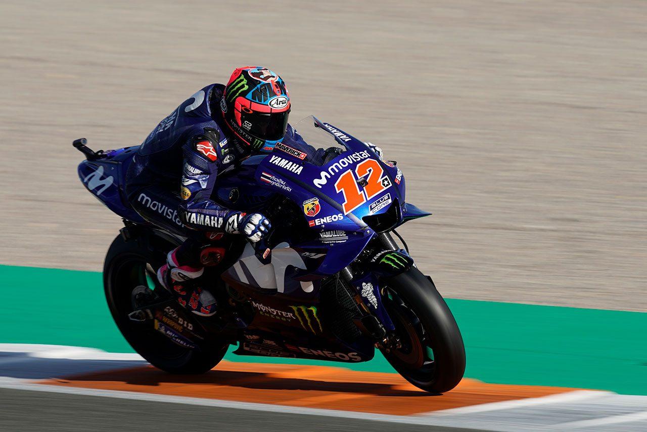 MotoGPバレンシアテスト2日目もトップはビニャーレス。中上はシングルポジションの8番手で終える