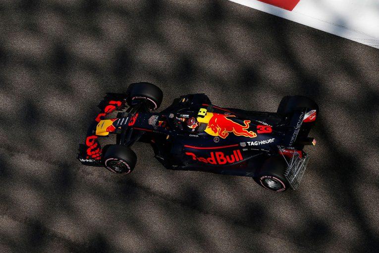 F1 | F1アブダビGP FP1:フェルスタッペンがトップ、11番手のガスリーは終了間際に右リヤから白煙