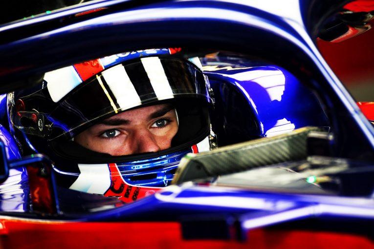 F1 | ガスリー、両セッションで11番手「マシンの感触はいいが、トップ10に入るにはさらなる改善が必要」トロロッソ・ホンダ F1アブダビGP金曜