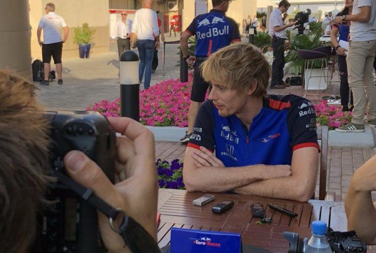 F1 | ハートレー「レースに向けポジティブな一日。課題のロングラン向上に取り組み、いいペースを発揮」トロロッソ・ホンダ F1アブダビGP金曜
