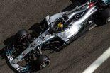 F1 | ハミルトン、特例でカーナンバー「1」を使用。「チームの皆が喜ぶから」
