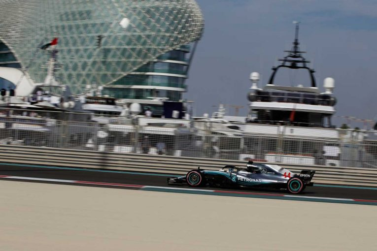 F1   【順位結果】F1第21戦アブダビGP予選