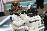 F1 | F1アブダビGP予選:王者ハミルトンが圧倒的な速さでポールを獲得、トロロッソ・ホンダにトラブル
