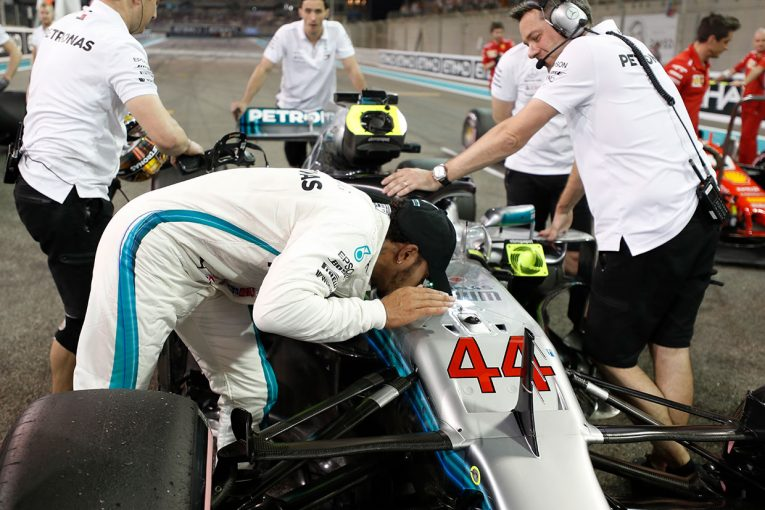 F1 | 【動画】ハミルトンのアブダビGP予選ポールラップ