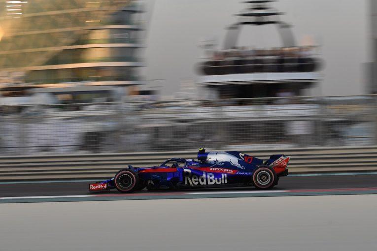 F1 | トロロッソ、2台がQ1落ち「FP3と予選で連続してパワーユニットのトラブル。10番手を狙える速さがあったが期待外れの結果に」F1アブダビGP土曜