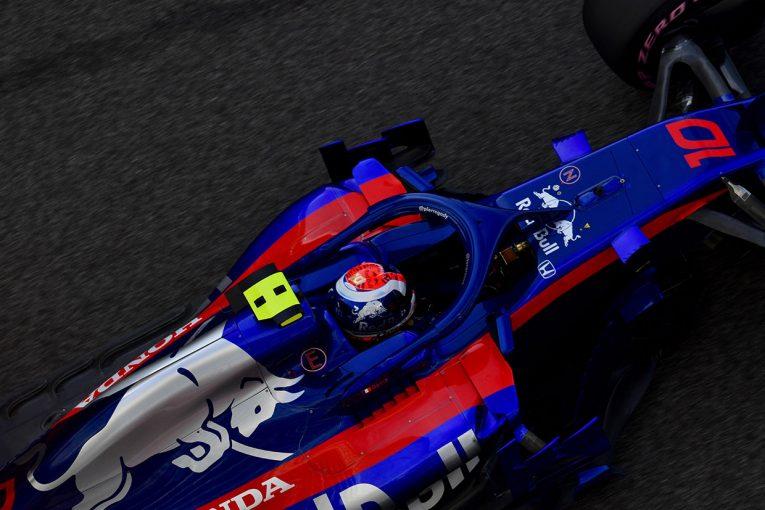 F1 | トロロッソ・ホンダF1密着:PUトラブルで失速したガスリー、中古PUに載せ替え17番手から決勝に臨む