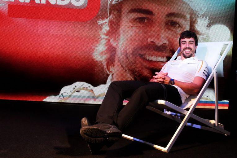 F1   アロンソ「F1最後の予選でQ2進出はうれしい驚き」フェアウェルイベントには現役ドライバーが全員集合:アブダビGP土曜