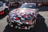 クルマ | 『TGRF2018』にA90型スープラが登場。ドライブした脇阪寿一を虜に