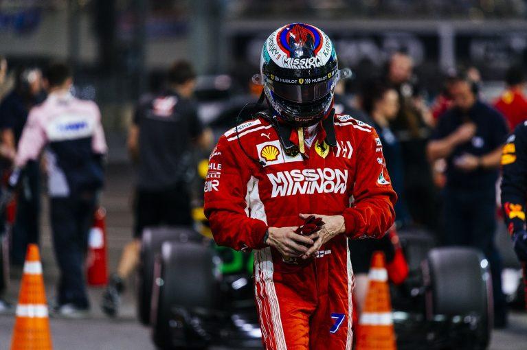 F1   ライコネン、FP3での違反で2018年初の戒告処分を受ける:F1アブダビGP土曜