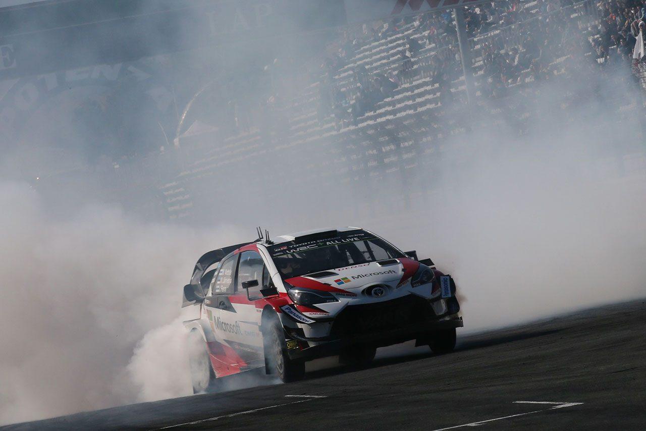 トヨタに19年ぶり栄光もたらしたヤリスWRCが凱旋。タナク「マシンは選手権のなかで最強の部類」/TGRF2018