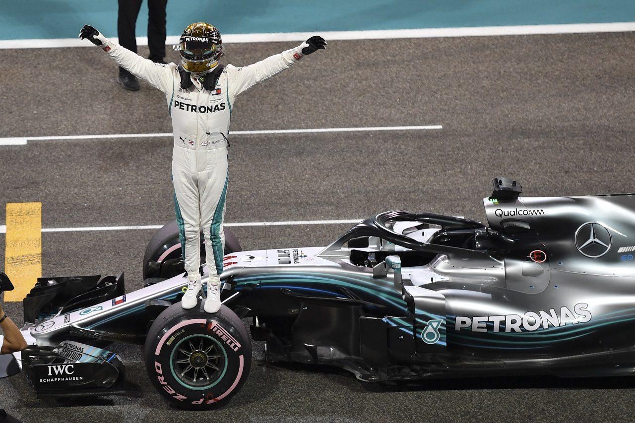 2018年F1第21戦アブダビGP ルイス・ハミルトン(メルセデス)