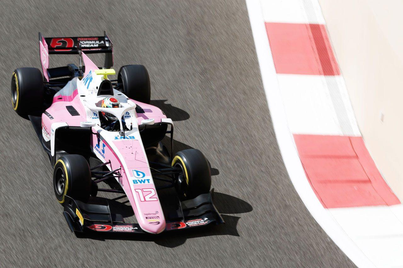 FIA F2 第12戦アブダビ レース2