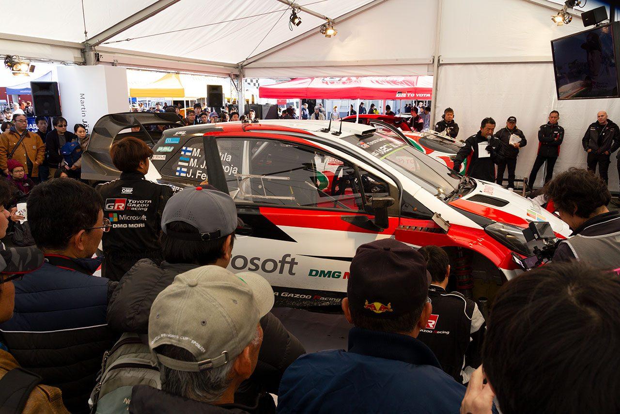 "『TGRF2018』に4万3000人が集う。ル・マン初優勝、WRCタイトル獲得のトヨタ""メモリアルイヤー""祝福"