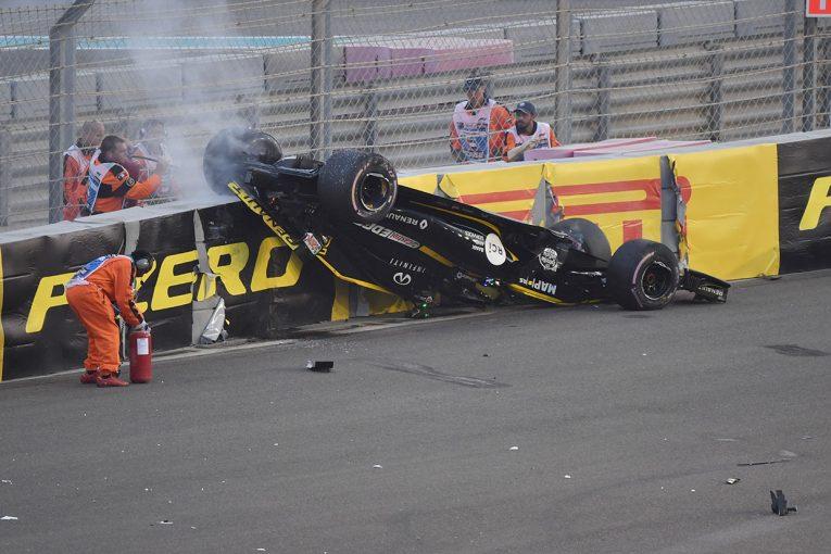 F1 | 【動画】ヒュルケンベルグがマシン横転の大クラッシュ/F1アブダビGP決勝